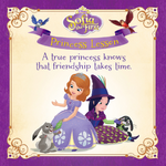 A True Princess Knows that Friendship Takes Time