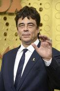 Benicio Del Toro 71st Emmys