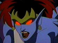 Demona red eyes