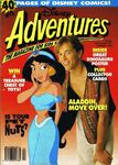 Disney adventures magazine australian cover aug sept 1993 aladdin