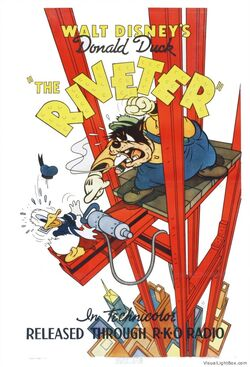 Donald duck - the riveter (1940 us 1s)