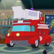 Fire Truck Rocket