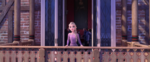 Frozen II - Elsa on Balcony