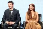 Jason Ritter & Joanna Garcia speak at Summer TCA Tour