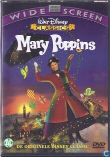 Mary Poppins 1998 Dutch DVD