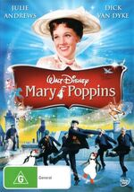 Mary Poppins 2014 DVD