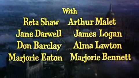 Mary Poppins Créditos de apertura