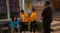 Raven's Home - 1x01 - Baxters Back! - In Trouble