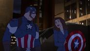Steve & Peggy Avengers Secret Wars 10