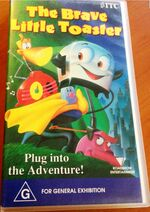 The Brave Little Toaster 1993 AUS VHS