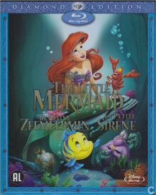 The Little Mermaid 2013 Dutch Blu Ray