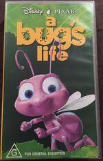 A Bug's Life 1999 Dot AUS VHS