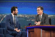 Billy Eichner visits Stephen Colbert