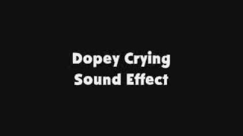 Dopey Crying SFX