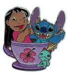 HKDL - Coffee Cup Series - Lilo, Stitch, and Scrump