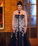 Idina Menzel speaks at Tonys