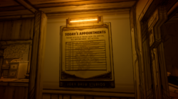 Michael Eisners name in BATIM