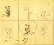 Mickey Mouse concept art
