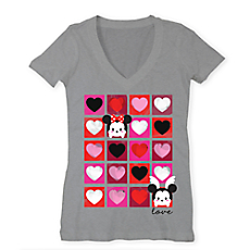 File:Mickey and Minnie Heart Squares Tsum Tsum T Shirt.jpg
