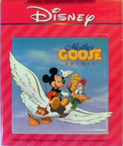 Mother Goose Rhymes 2nd Cassette Disney Read Along