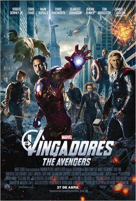 Os Vingadores - Pôster Nacional