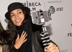 Rosario Dawson Tribeca selfie