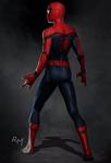 SMH Spider-Man suit concept (rear)