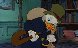 Scrooge in Mickey's Christmas Carol