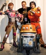 Star Wars Rebels live