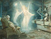 Tenggren Blue fairy workshop