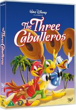 The Three Caballeros 2015 Scandanavia DVD