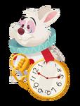 White Rabbit Kingdom Hearts χ