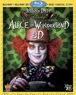 AliceInWonderland 3D Bluray
