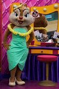 Clarice at Disneyland