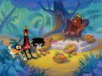 Disney's Timon and Pumbaa - Boara Boara - The Three Natives with Pumbaa