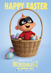 Incredibles 2 French Easter poster
