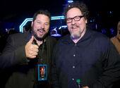 Jon Favreau Greg Grunberg SW Force Awakens premire