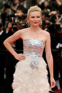 Kirsten Dunst 64th Cannes