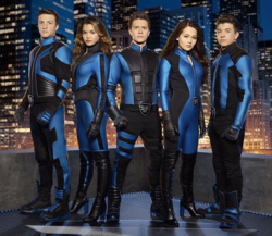 Lab Rats-Elite Force personajes