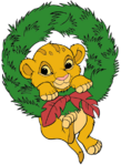 Simba-wreath