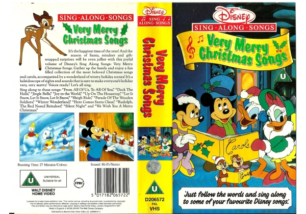 Image - Very Merry Christmas Songs UK Cover.jpg | Disney Wiki ...
