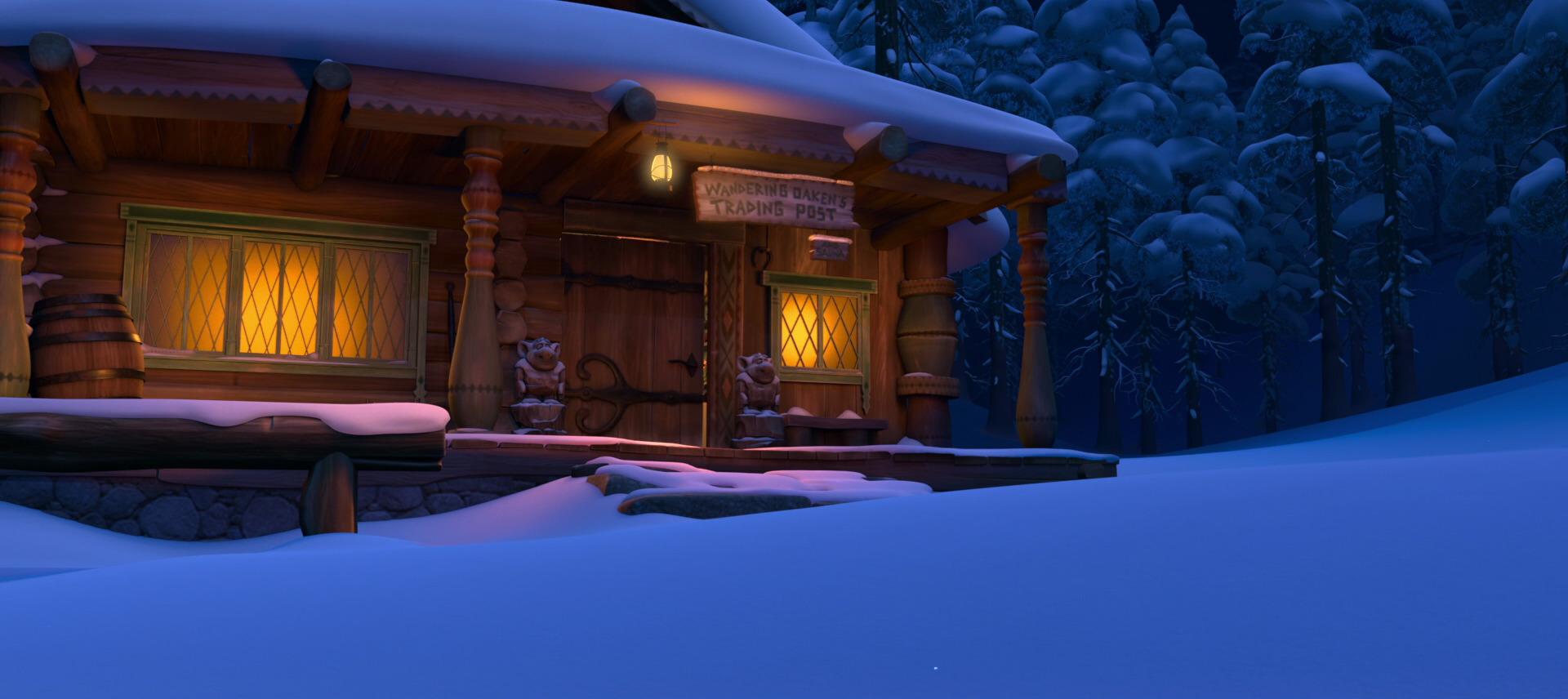 Wandering Oaken S Trading Post And Sauna Disney Wiki Fandom