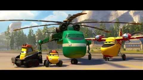 Aviões 2 Heróis do Fogo ao Resgate - Clip Solta a Agulha