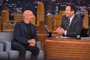 Ben Kingsley visits Jimmy Fallon