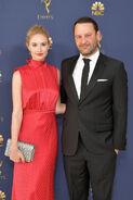 Dan Fogelman & wife Caitlin Thompson 70th Emmys