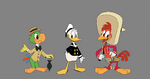 DuckTales 2017 Three Caballeros Promo Art