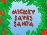 Mickey Saves Santa title card