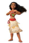 Moana with the heart