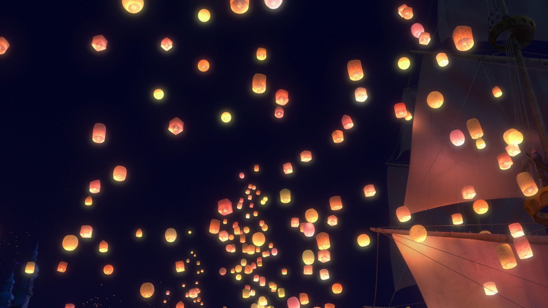 Image - Sky of lanterns.png | Disney Wiki | FANDOM powered by Wikia for Lantern Festival Tangled  557yll