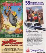 The jungle book 1990 reissue movie ad